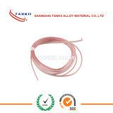 alambre de la remuneración del termocople del sólido de 0.1m m con el aislante fino (tipo EX)