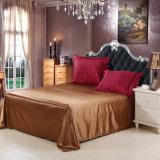 Haupttextilsatin-Silk Schlafzimmer-Bettwäsche-Set