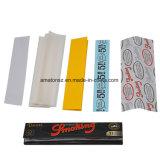 Papel de balanceo negro del cáñamo del tabaco de cigarrillo del papel de balanceo que fuma