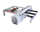 計算機制御CNCのビームは打抜き機の木工業機械装置を見た