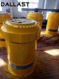 Cilindro hidráulico do atuador do único Tonnage elevado resistente ativo de Jack hidráulico