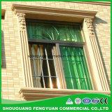 Poliestireno decorativo y aislante que moldea alrededor de Windows