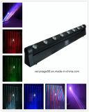 Effect Lichte 8*10W CREE RGBW in 1 Bewegend Hoofd van de LEIDENE Straal van de Staaf