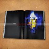 Grand livre de photographie de livre À couverture dure d'impression de livre de table basse