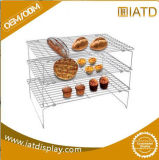 Metal Wire Steel display Kitchen Dish rack for Coffee