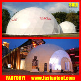 pleins transparents de 10m 16m 20m galvanisent la tente de chapiteau de dôme géodésique