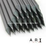 Crayon HB en bois noir avec aiguisé fin