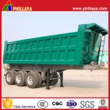 La case corps Cargo semi-remorque de basculement hydraulique