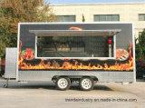 Küche-Laufkatze Nahrungsmittel-LKW-Nahrungsmittelschlußteil-mobile Nahrungcartfood Van Catering Trailer