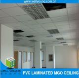 ホイルの背部天井のタイルPVCによって薄板にされるMGOのボード