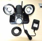 Cámara de la luz del sensor de WiFi PIR de la seguridad casera 720 de la cámara de la luz del sensor de movimiento de PIR WiFi 3G