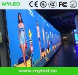 Innenmiete P4.81, die LED-Bildschirmanzeige/videowand (500*500mm/500*1000mm, bekanntmacht)