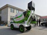 4.0Cbm Self-Loading Móvel Planta de lote de Concreto Misturadoras