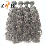安い8A 100%のインドの巻き毛のバージンの人間の毛髪の拡張