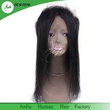360 degrés de cheveux humains brésiliens de cheveu droit