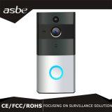 Câmera panorâmico do Doorbell video sem fio com Baixo-Psto