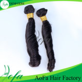 Prolongation indienne de cheveux humains en vrac de cheveux de Vierge