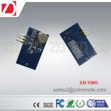 Módulo de transmissor sem fio pequeno do tamanho Zd-Tb06 315/433MHz para a escala de trabalho longa