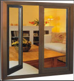 Modern Design Yellow Color Aluminum Breaking Window (ACW-017)