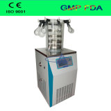 実験室の使用のための棚の暖房が付いている高品質の真空の凍結乾燥器