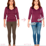 Commerce de gros TV Jeggings Slim femmes Leggings Stretch imprimé Legging Jeans avec des poches