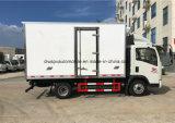 L'alimento delle rotelle di Sinotruk HOWO 6 rinfresca il camion con il frigorifero dell'elemento portante