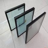 8mm+12A+8mm isolés de verre trempé transparent