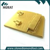 Marble Granite/Concrete를 위한 두 배 Bar Segment PCD Round Diamond Floor Polishing Pads