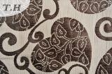 Tissu de sofa de jacquard avec la configuration d'amour et le modèle de coton de mélange
