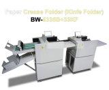 Промышленные скоросшиватели Creaser перфоратора Slitter A3 A4 бумажные автоматические