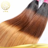 Ton-Farben-Menschenhaar 100% des Jungfrau-peruanisches geraden Haar-drei