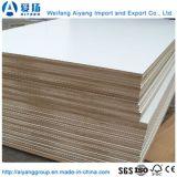 El papel de melamina blanco de titanio frente MDF de Shandong