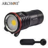 Archon Wm16 2700 루멘 수중 영상 빛 4 색깔 빛