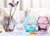 Farben-Mund durchgebrannter Glasvase