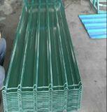 Revestido de color acero PPGI Corruaged Hoja de impermeabilización de techos de metal/hoja