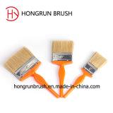 De plastic Borstel van de Verf van het Varkenshaar van het Handvat (HYP021)