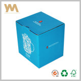 Het blauwe Sterke Vakje van de Verpakking van het Document Courrgated voor Kop