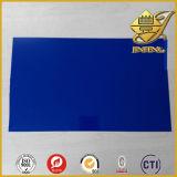 Hoja opaca azul profunda del PVC