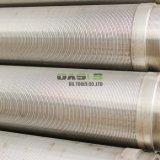 Filter van het Water van de Pijp van het Scherm van de Draad van het Type van Scherm van het roestvrij staal de V-