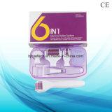 6 caldi in 1 sistema del rullo di Microneedle del rullo di cura di pelle del rullo di Derma
