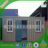 Modulares 20FT Behälter-Haus der niedrigen Kosten-für Lager der Arbeitskraft
