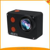 Più nuovo 4K mette in mostra la macchina fotografica di azione di DV con l'ente impermeabile dello schermo di tocco 2.0inch