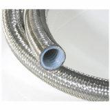 Acero inoxidable trenzado de 3/4 '' del tubo de PTFE corrugado