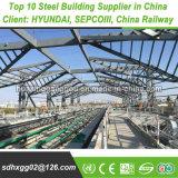 容易な交通機関はすぐに造りの金属の建物を構築する