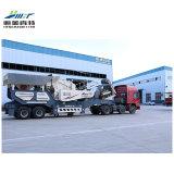 Fornecedor chinês fácil britador de pedra móvel móvel, móvel Britagem