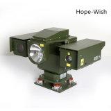 De militaire Op een voertuig gemonteerde Camera van kabeltelevisie van de Camera van de Visie van de Nacht PTZ Thermische