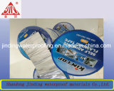 Con papel de aluminio cinta adhesiva de la membrana impermeabilizante