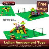 セリウムの公園(X1501-8)のためのプラスチック高品質の子供の屋外の運動場