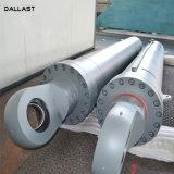 高圧容積トン数企業工学機械のための望遠鏡油圧RAMオイルシリンダー