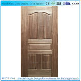 Pele de madeira moldada fabricante da porta de HDF
